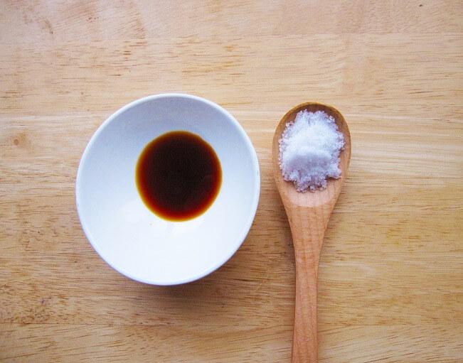 塩分摂取を控える