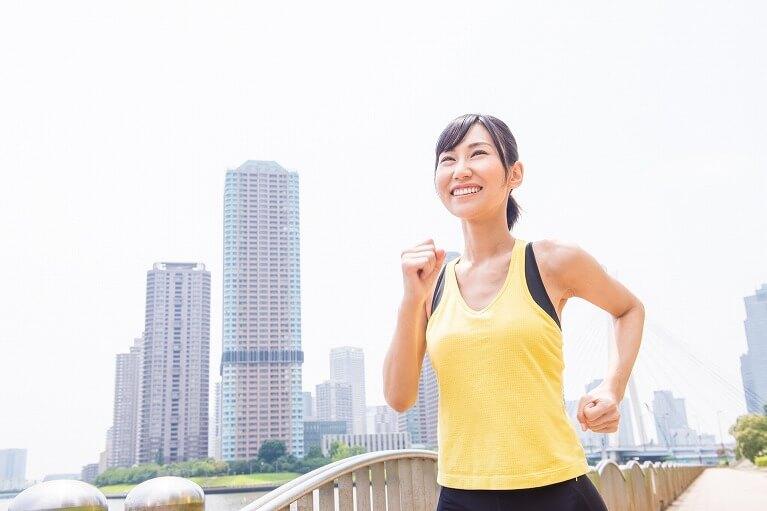 健康状態、体力、ライフスタイルに合った運動をする
